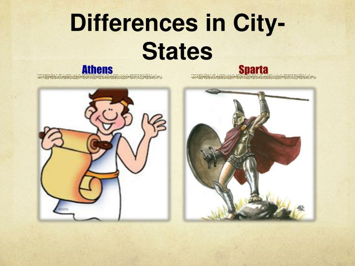 Differences in City-States