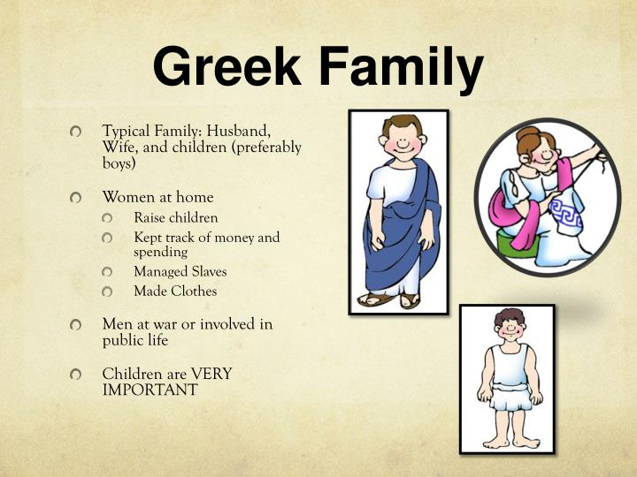 Greek family