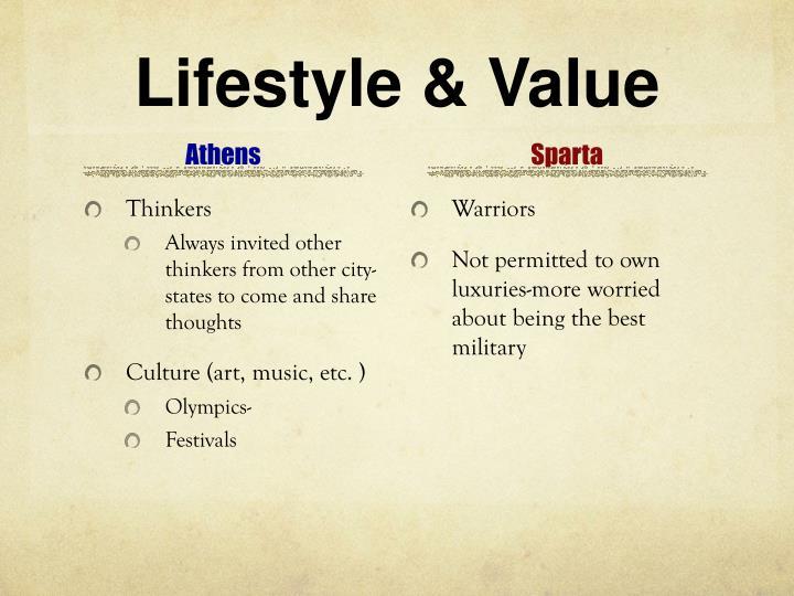 Lifestyle & Value