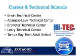 career technical schools