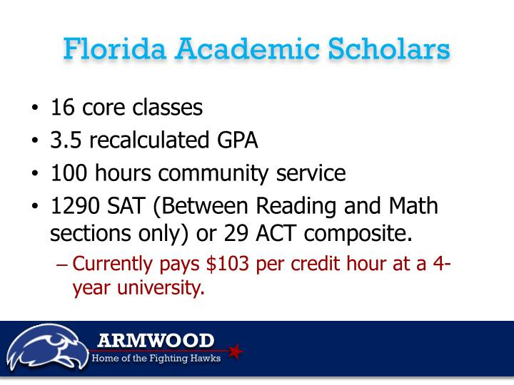 Florida Academic Scholars