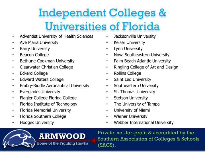 Independent Colleges & Universities of Florida