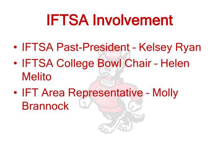 IFTSA Involvement