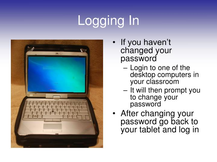 If you haven't changed your password