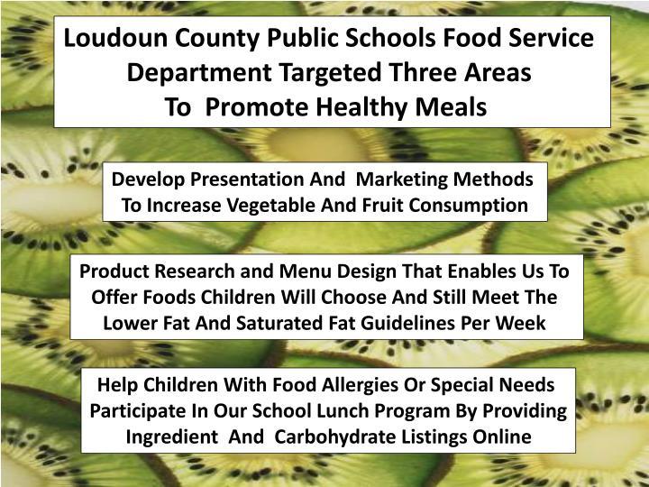 Loudoun County Public Schools Food Service