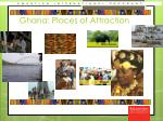 ghana places of attraction