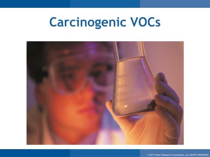 Carcinogenic VOCs