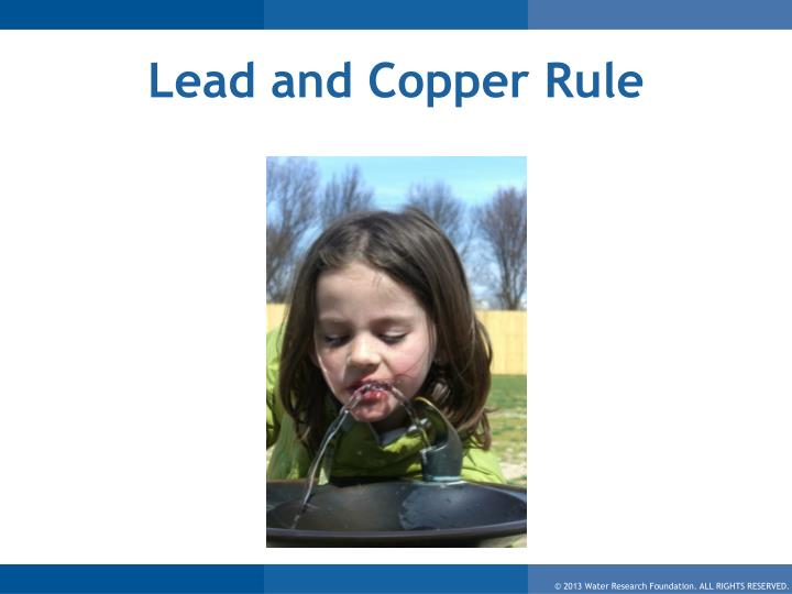 Lead and Copper Rule