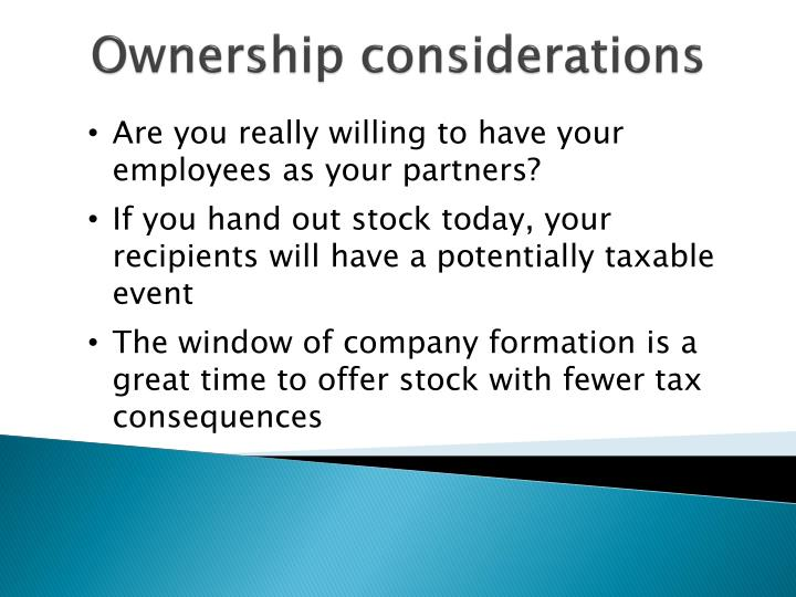 Stock options tax consequences