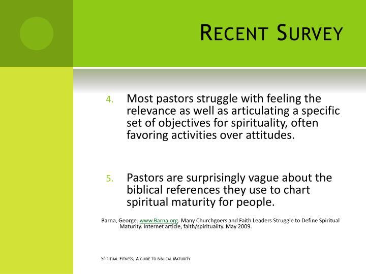 Recent Survey