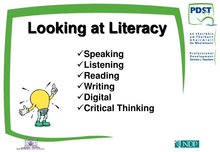 Looking at Literacy