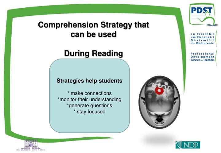 Comprehension Strategy that can be used