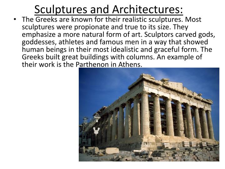Sculptures and Architectures: