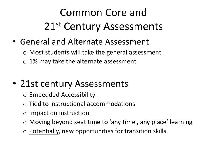 Common Core and
