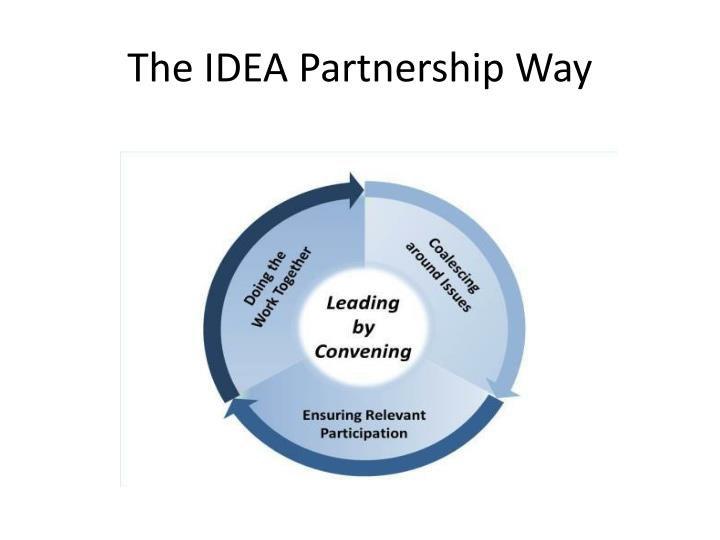 The IDEA Partnership Way