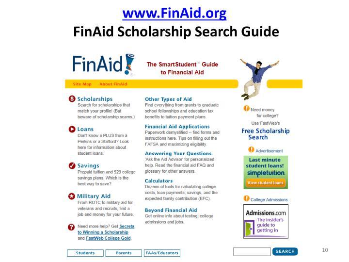 www.FinAid.org