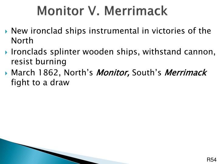 Monitor V. Merrimack