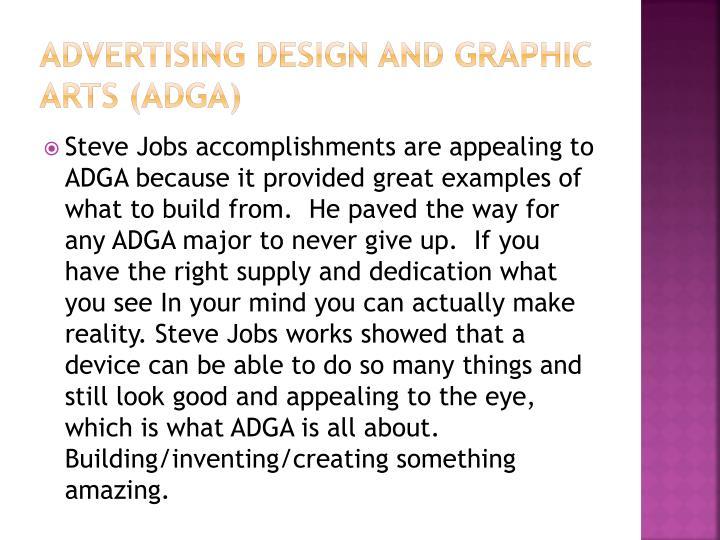Advertising Design and Graphic Arts (ADGA)