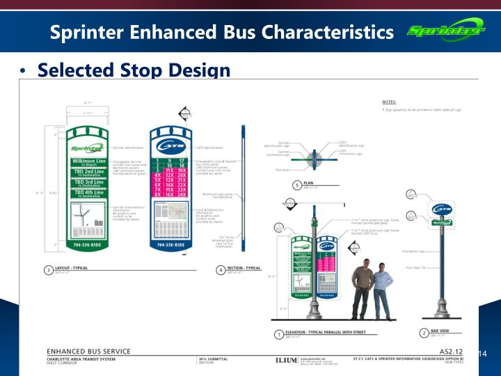 Sprinter Enhanced Bus Characteristics