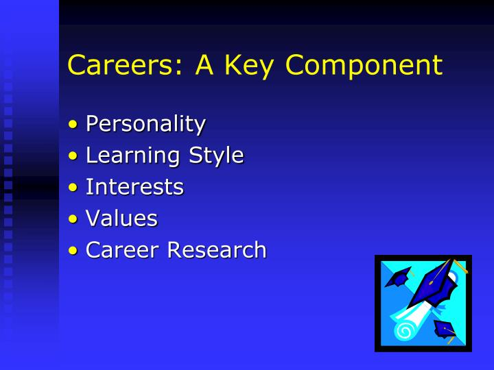 Careers: A Key Component
