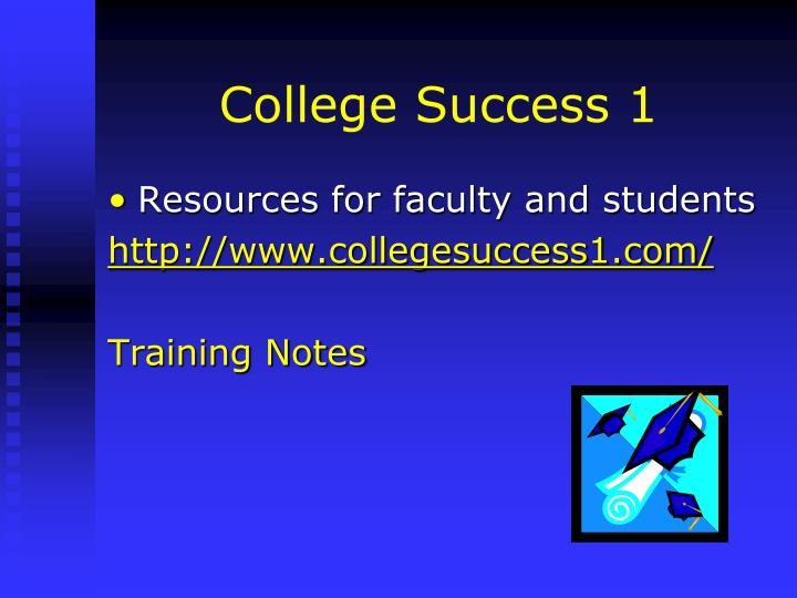 College Success 1