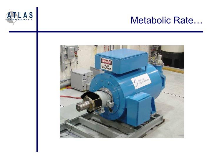 Metabolic Rate…