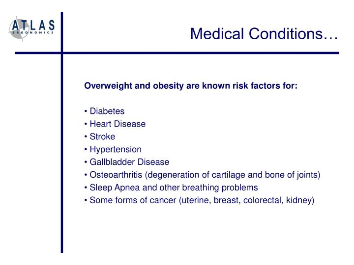 Medical Conditions…