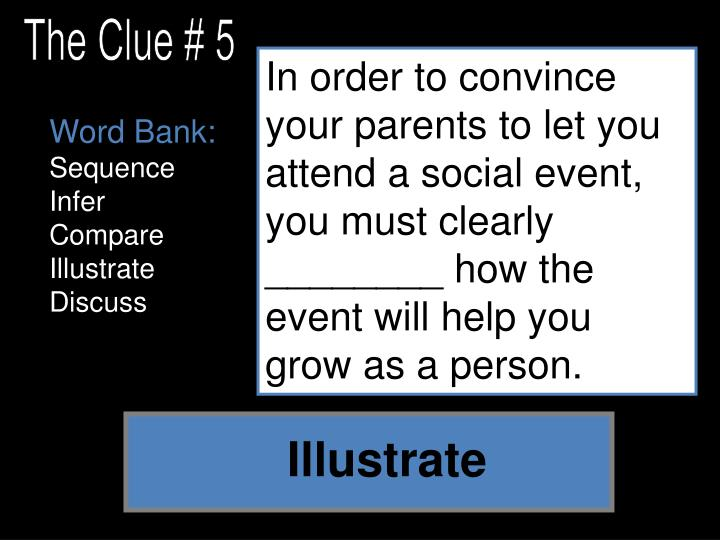 The Clue # 5