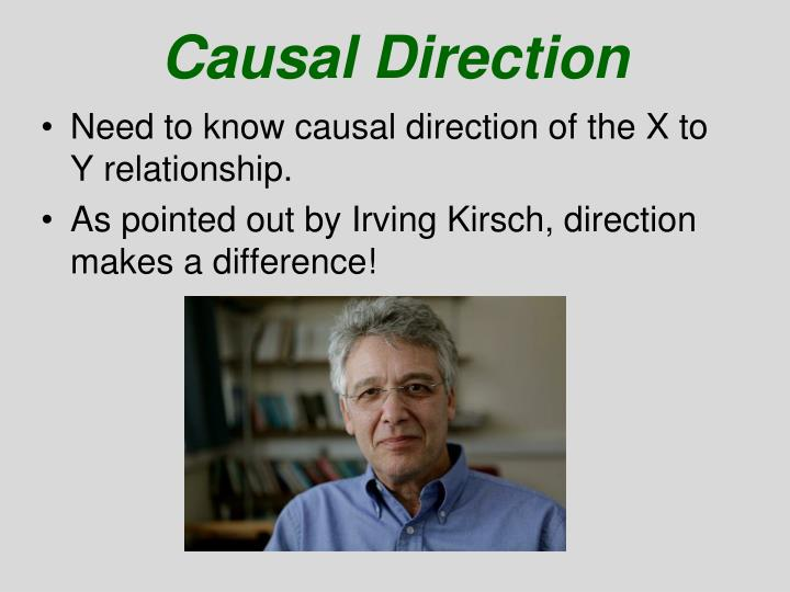 Causal Direction