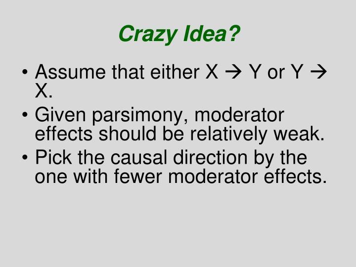 Crazy Idea?