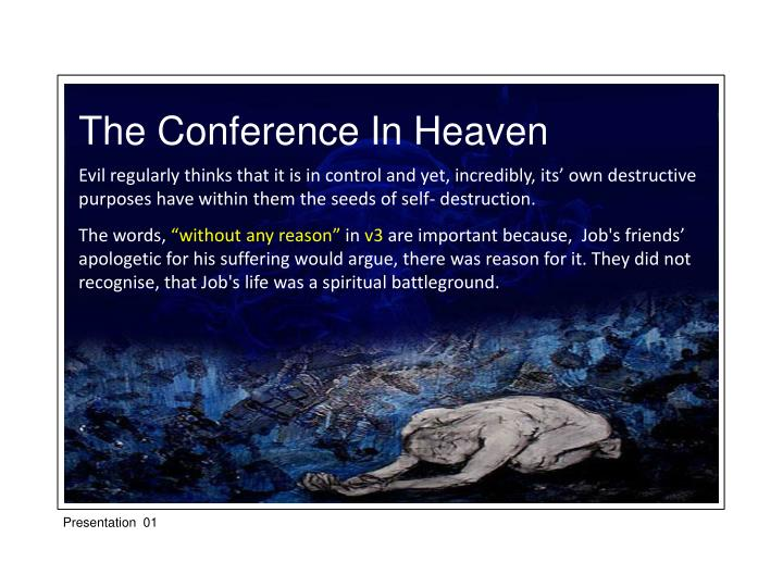 The Conference In Heaven