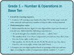 grade 1 number operations in base ten