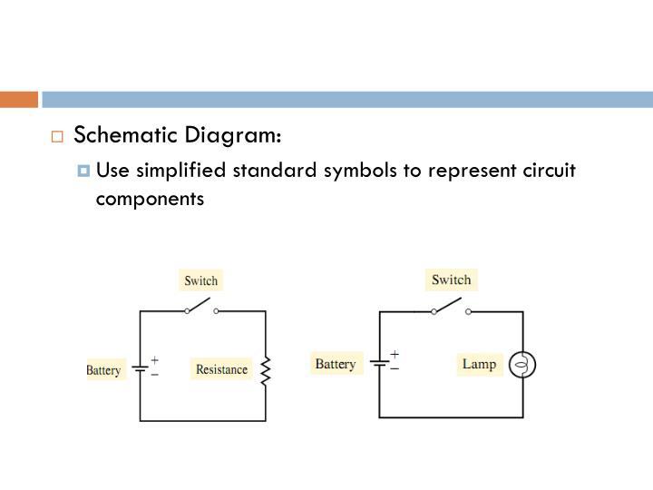 Schematic Diagram: