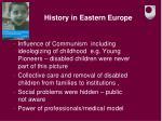 history in eastern europe