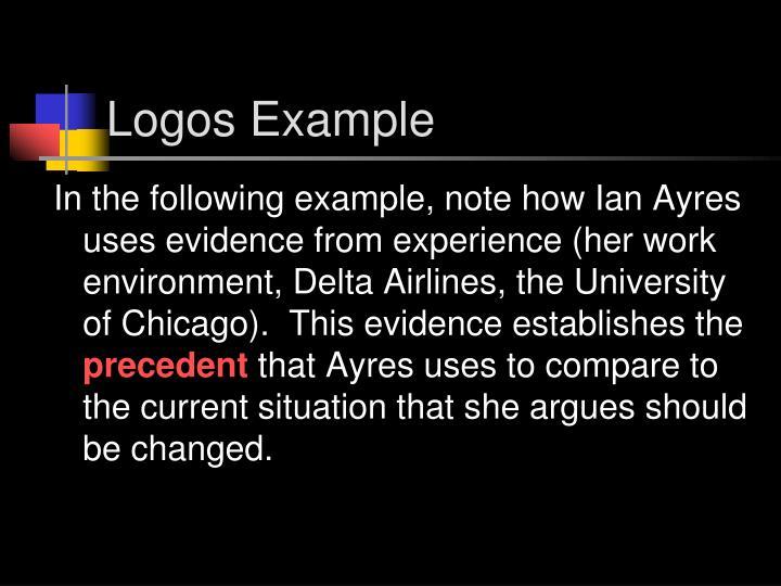 Logos Example
