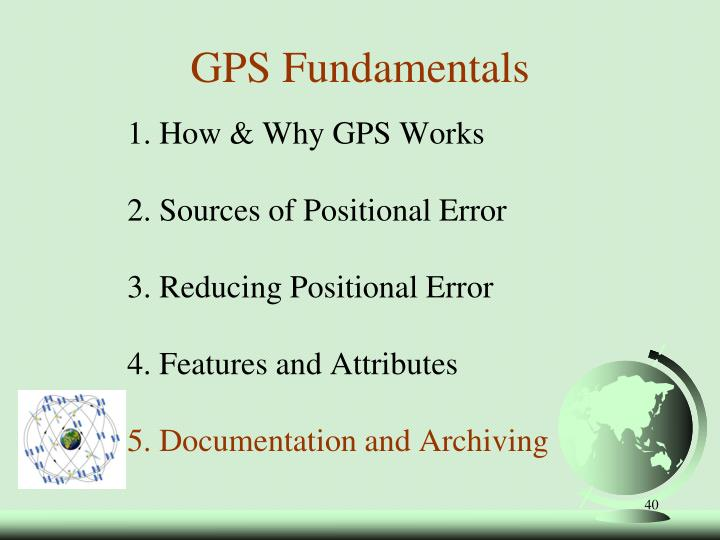 1. How & Why GPS Works