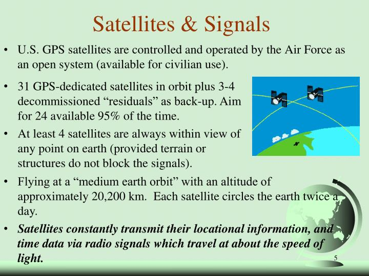 Satellites & Signals