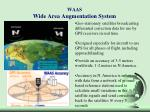 waas wide area augmentation system