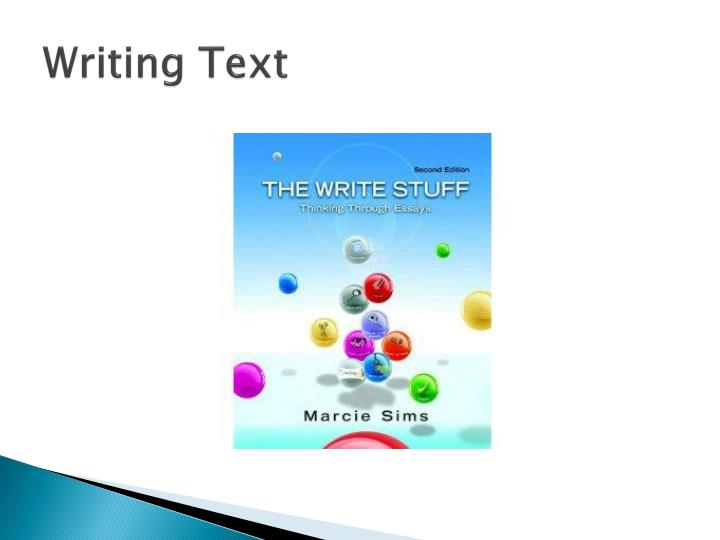 comment and response to texting and writing by michaela cullington Outlining aids in the process of writing helps you organize your ideas presents  your  michaela cullington  what is needed, and the other person will receive  the information and respond when it's  comment [2]: what: texting in a process.