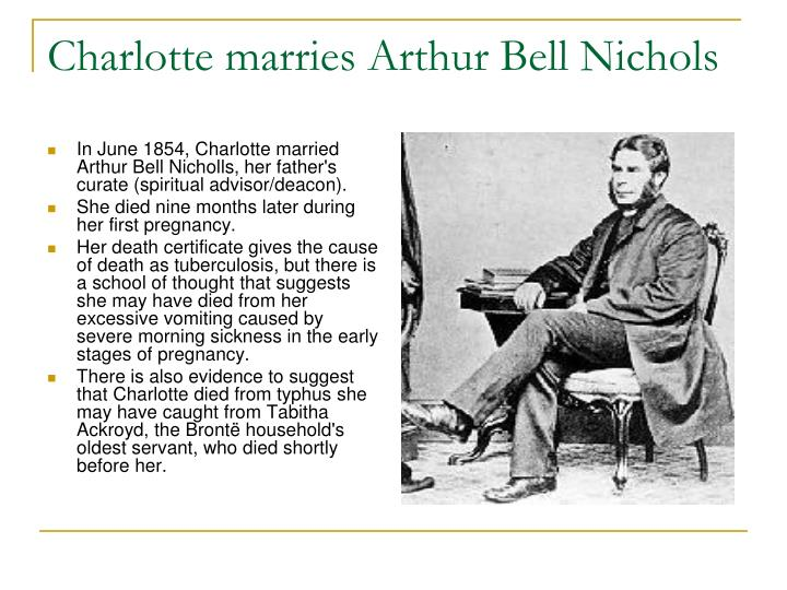 Charlotte marries Arthur Bell Nichols