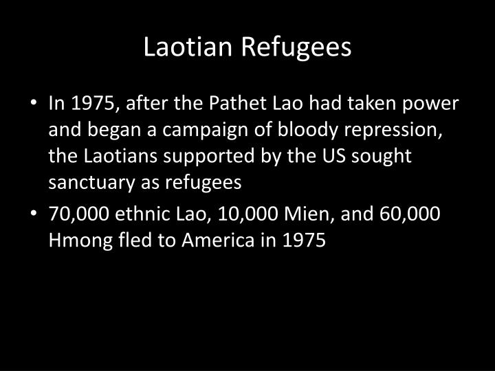 Laotian Refugees