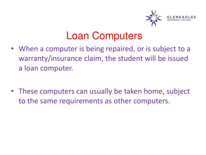 Loan Computers