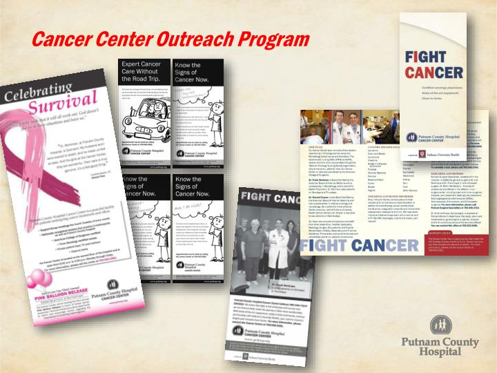 Cancer Center Outreach Program