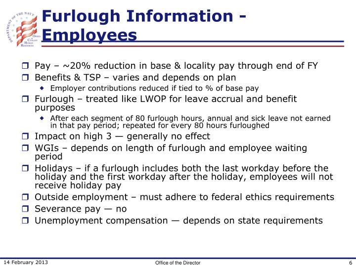 Furlough Information - Employees