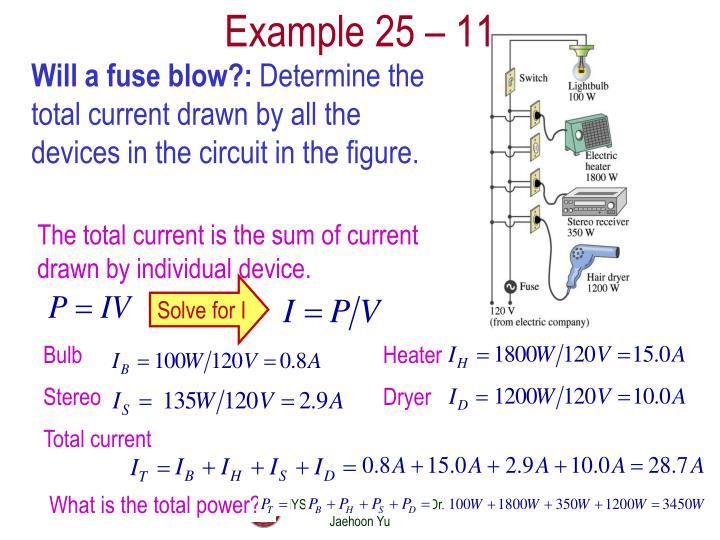 Example 25 –