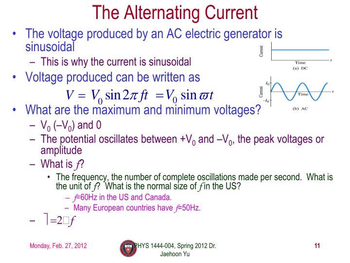 The Alternating