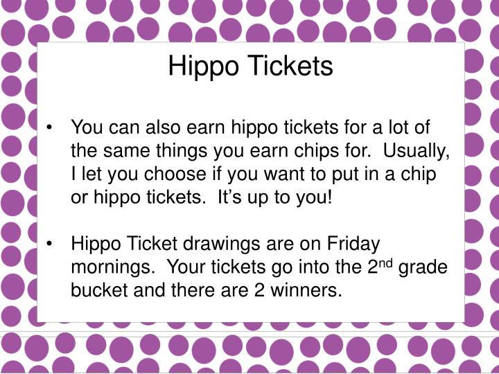 Hippo Tickets