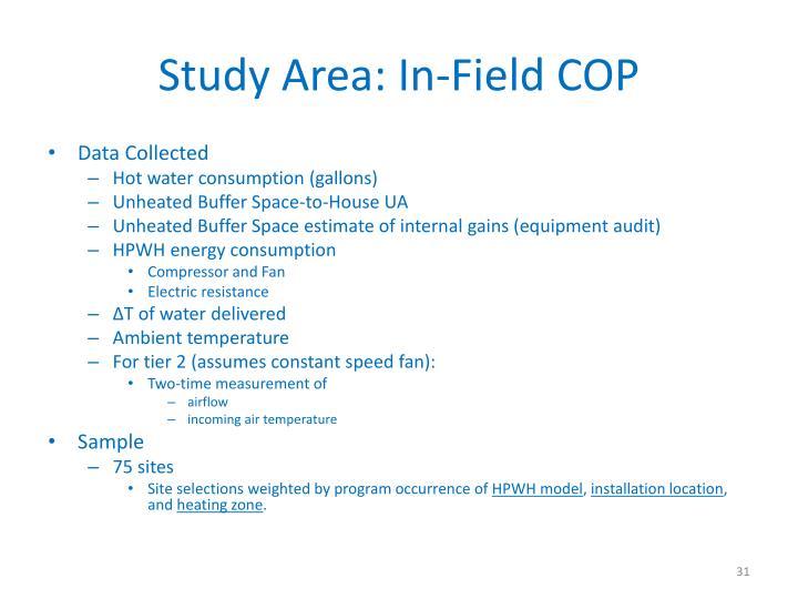 Study Area: In-Field COP