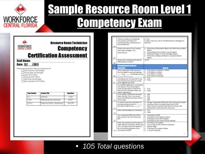 Sample Resource Room