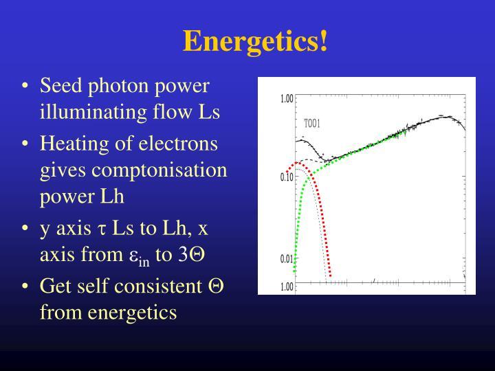 Energetics!